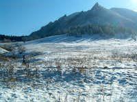 Spring Snows on Green Mountain