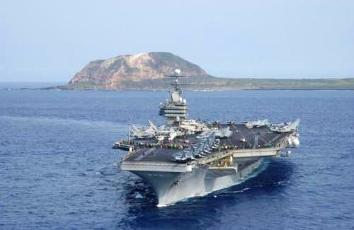 USS Carl Vinson (CVN-70) and...
