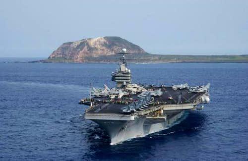 USS Carl Vinson (CVN-70) and...