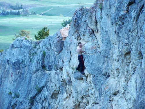 Bouldering on Mt Baldy
