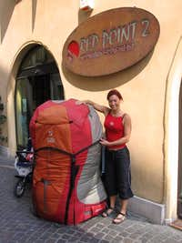 Huge backpack... :-)