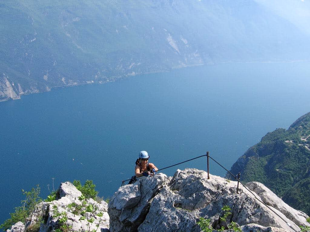 Wonderful scenery from Susatti via ferrata