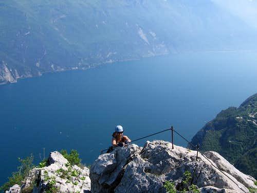 Wonderful scenery from Susatti via ferrata
