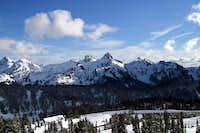 Pinnacle Peak and more of the...