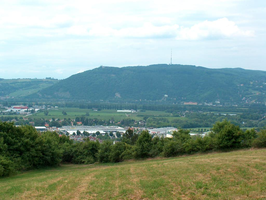 Leopoldsberg and Kahlenberg from Bisamberg