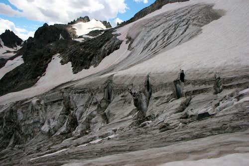 Gooseneck Glacier
