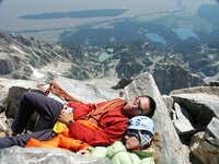 Napping at 13770 feet