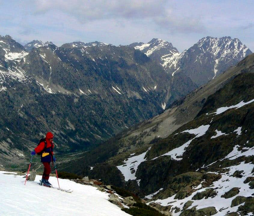 Ski-touring in Gesso Valley