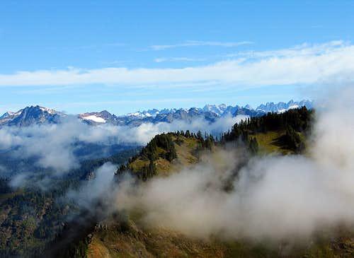 Pickett Range from Sauk Mountain