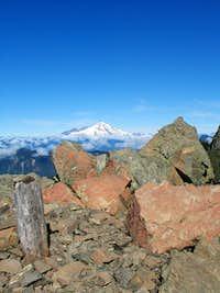 Mount Baker from Sauk Mountain lookout site