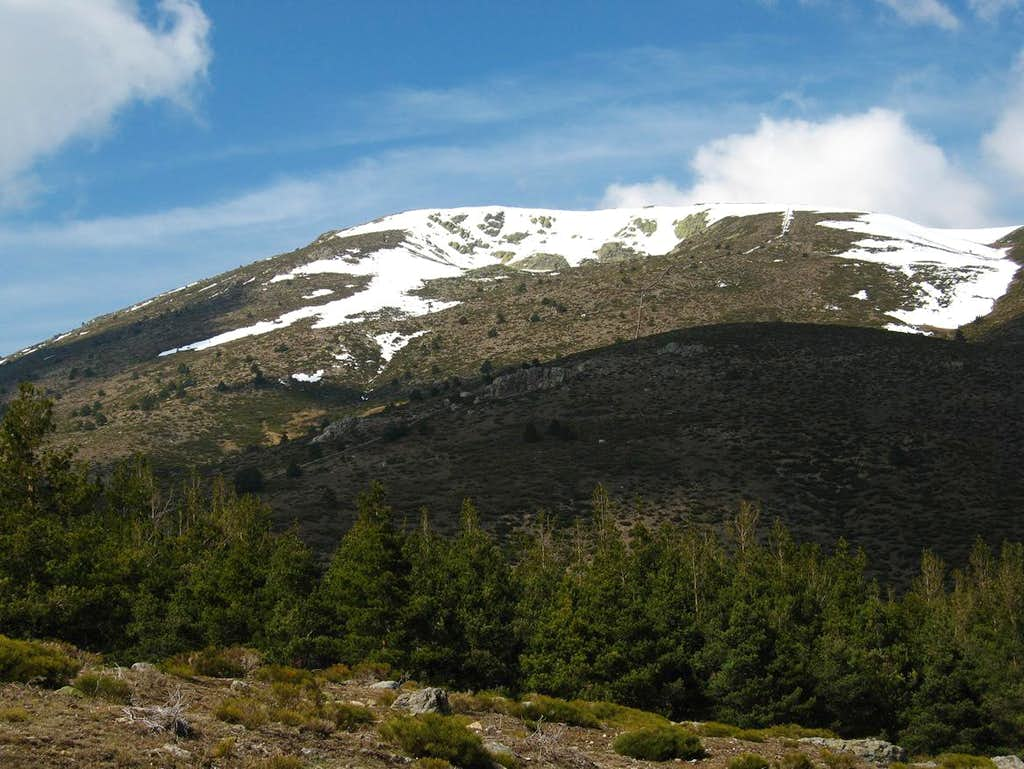 Nevero, south-east face
