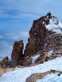 Ryan on the summit of Mt Shasta