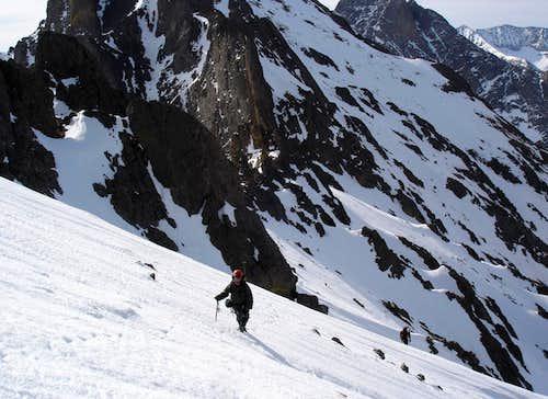 Along the South Ridge