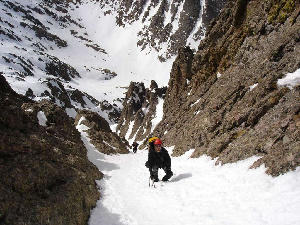 Middle couloir
