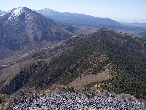 Wheeler Peak\'s Long Ridge