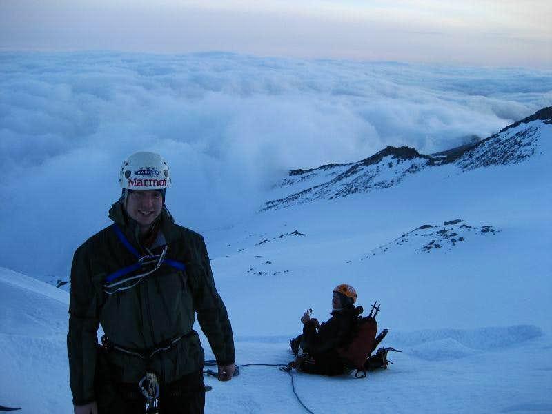 On the shoulder of Yokum Ridge