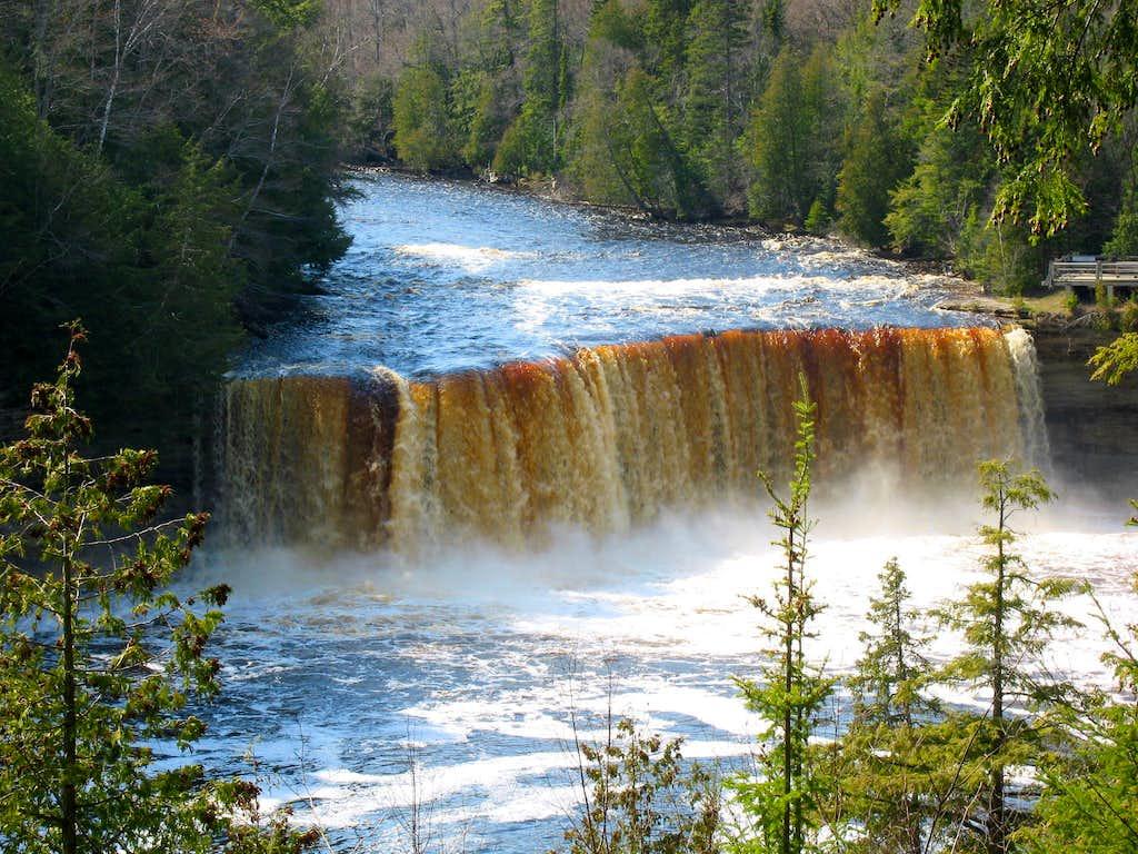 michigan upper peninsula waterfalls - photo #41