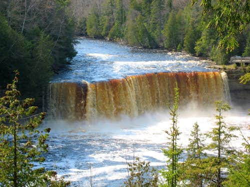 Waterfalls of the Upper Peninsula