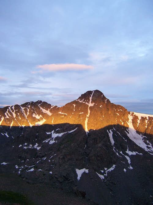 Sunrise on Mount of the Holy Cross