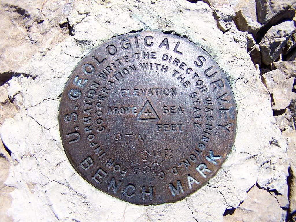 Mountain Springs Benchmark