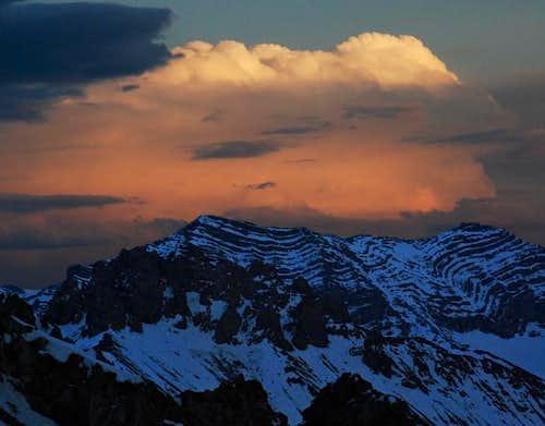 clouds over Far Away Mountain