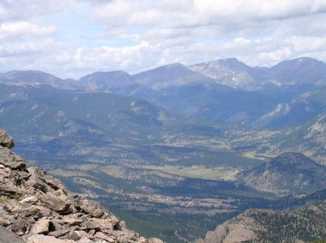 top of twin sisters