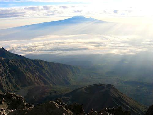 View on Kilimanjaro