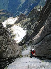 Climbing the Niedermann Route