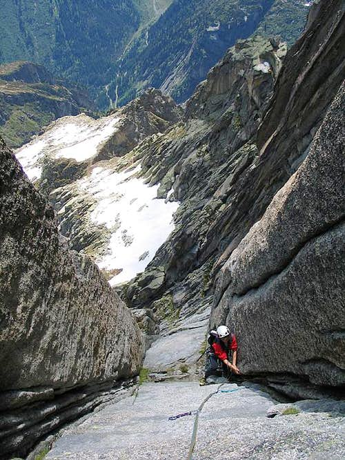 Climbing the Niedermann Route
