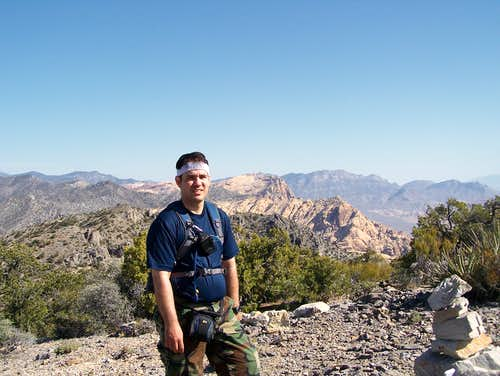 Myself on Mountain Springs Peak