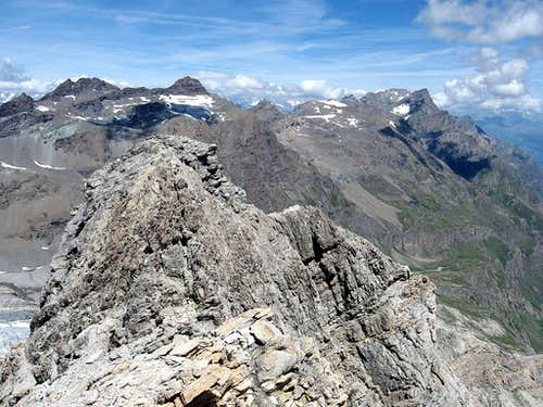 The second summit,and the Valley of Rhemes.
