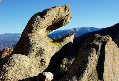 Rock monster on Mt. San...