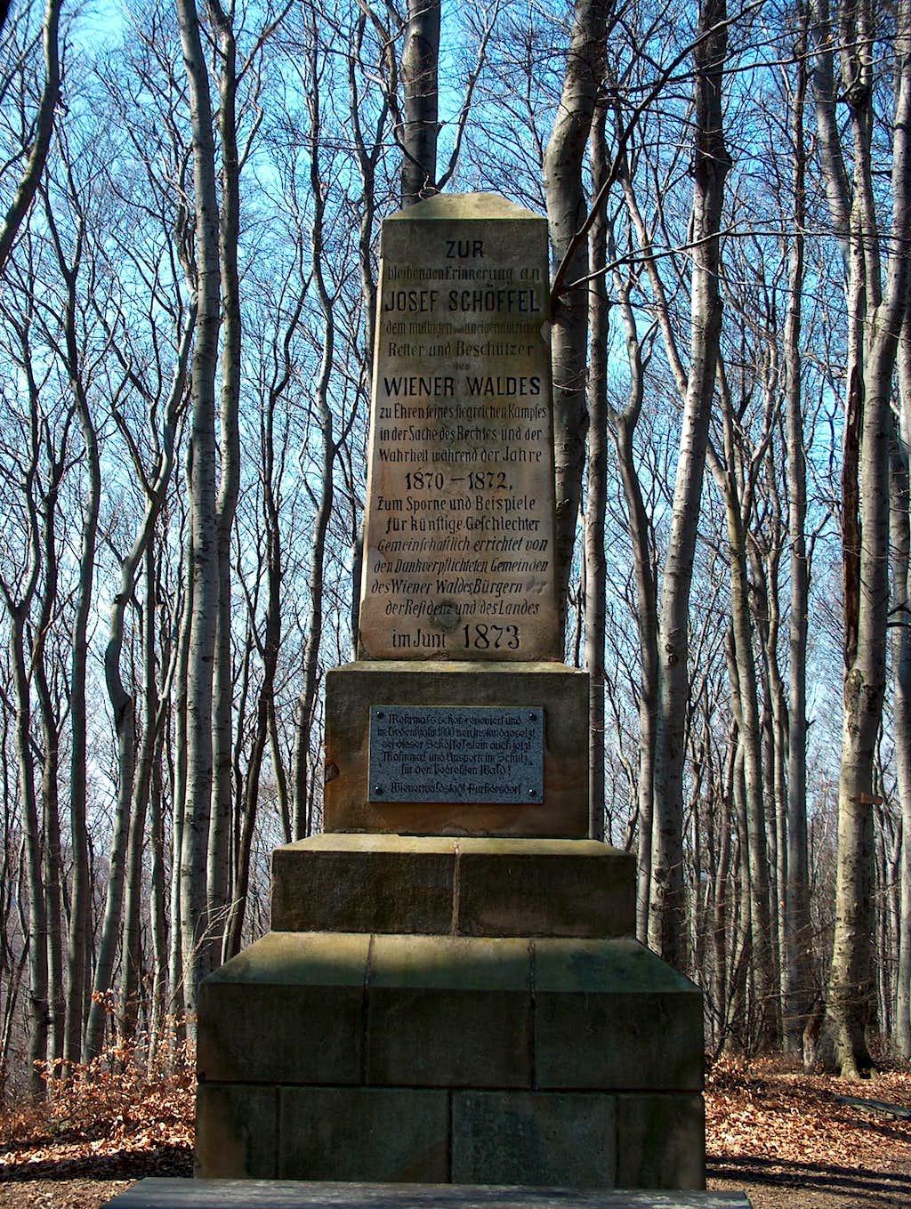 Monument to Savior of Vienna Woods