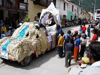 A Float of Solimana in the Parade