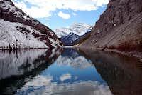 Spray Lake Reflection