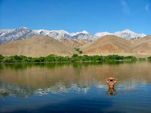 Mountain Dreaming in Lake Diaz