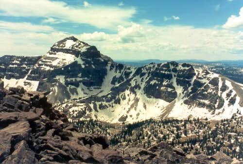 Hayden Peak as seen from the...