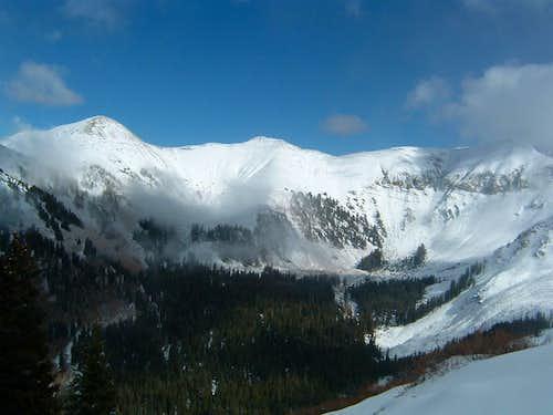 Mt. Mellenthin from Tuk NE Ridge