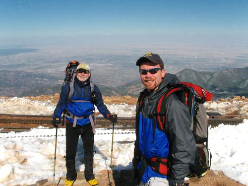 The Top of the Pikes Peak Traverse