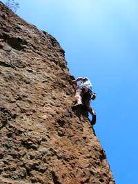 TR'ing a 10d at Echo Cliffs