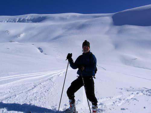 Descending Tromsdalstind
