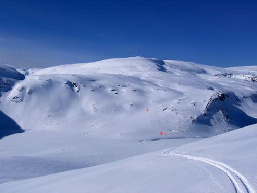 Ski Route Tromsdalstind