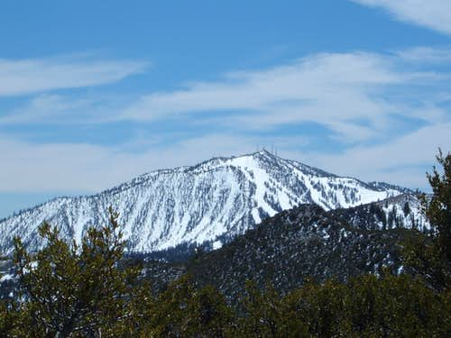 View of Slide Mountain