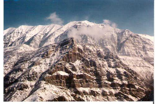 Cascade Mountain looming over Squaw Mountain