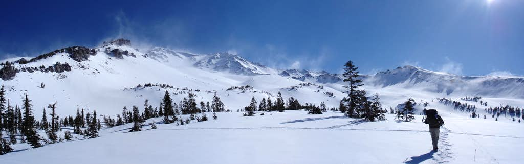 Avalanche Gulch Panoramic