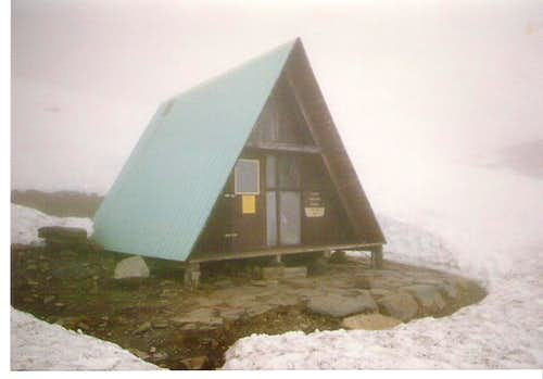 Crow Pass Hut - Chugach Mountains, AK