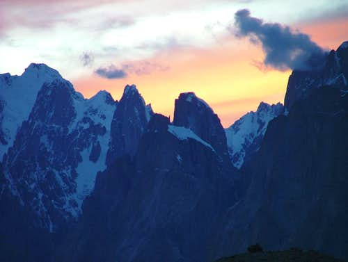Uli Biaho Towers Baltoro