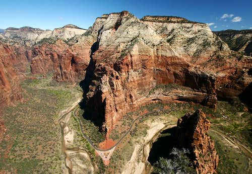 View from Angel\'s Landing