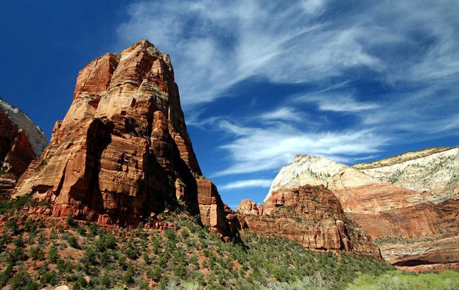 Towers in Zion