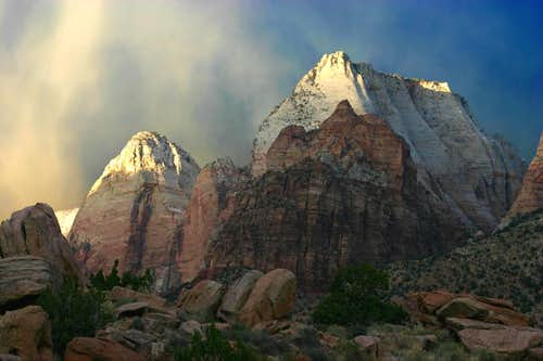 Evening in Zion